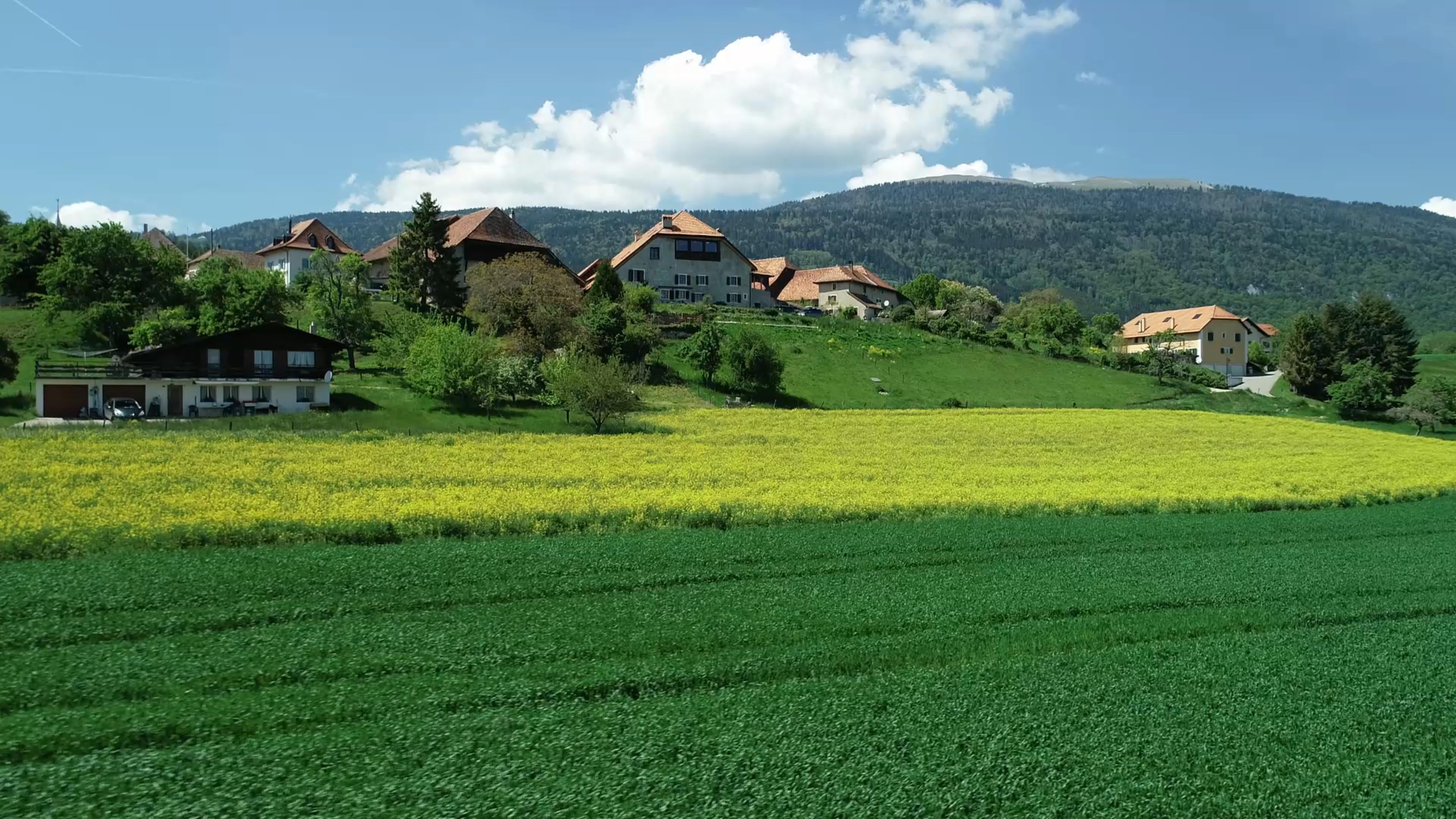 Vidéo aérienne d'une propriété